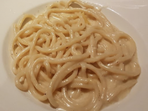 Fresh Cacio e Pepe at Tamero in Florence